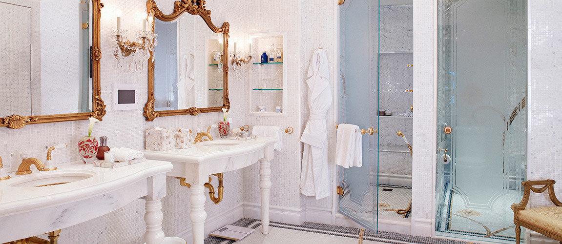 Hotels Luxury Travel indoor bathroom wall room home interior design sink plumbing fixture Suite window Bath