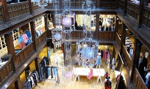 Style + Design scene building retail Boutique aisle library Shop