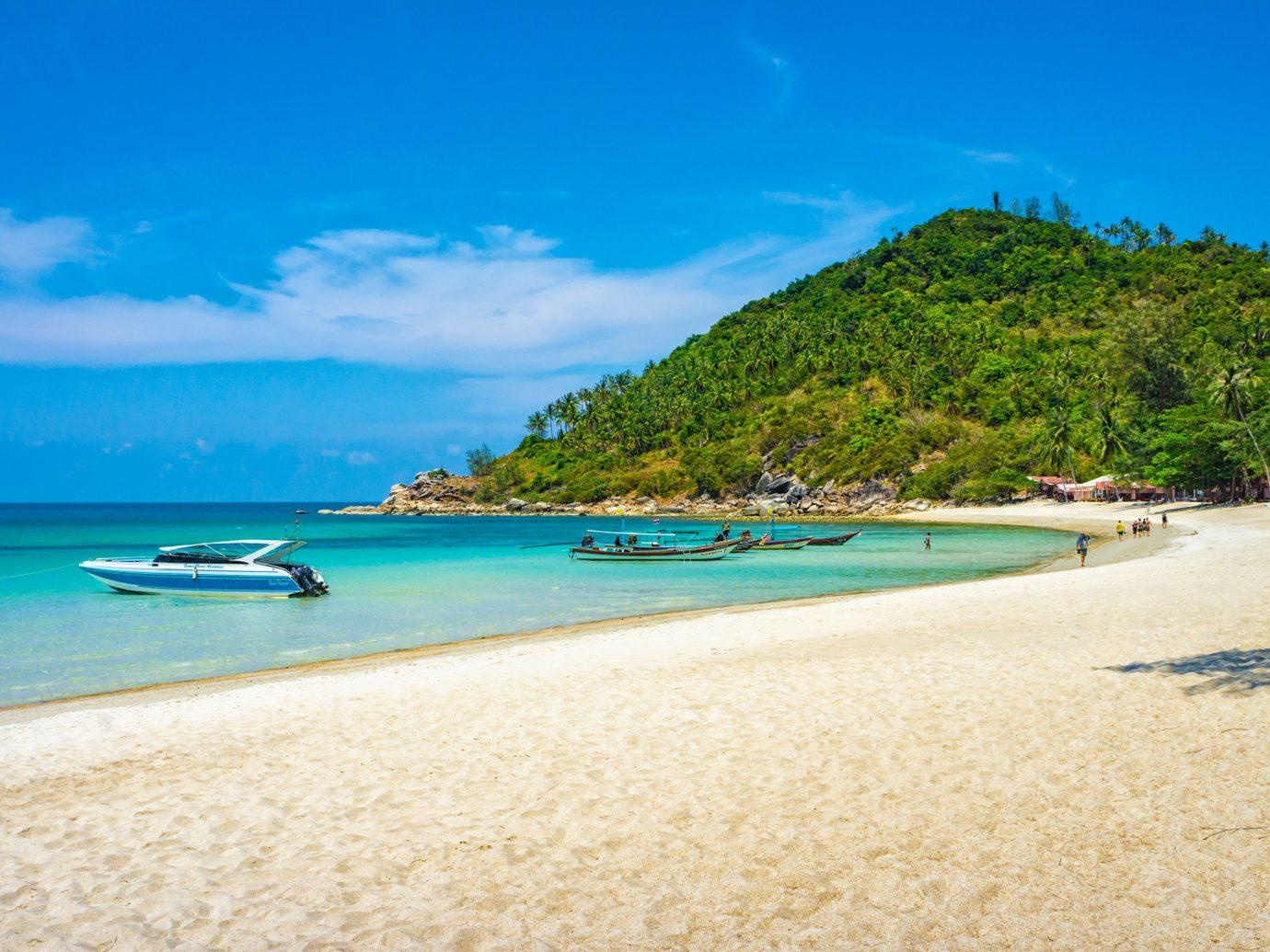 beautiful sandy beach Thong Nai Pan Noi, Koh Phangan