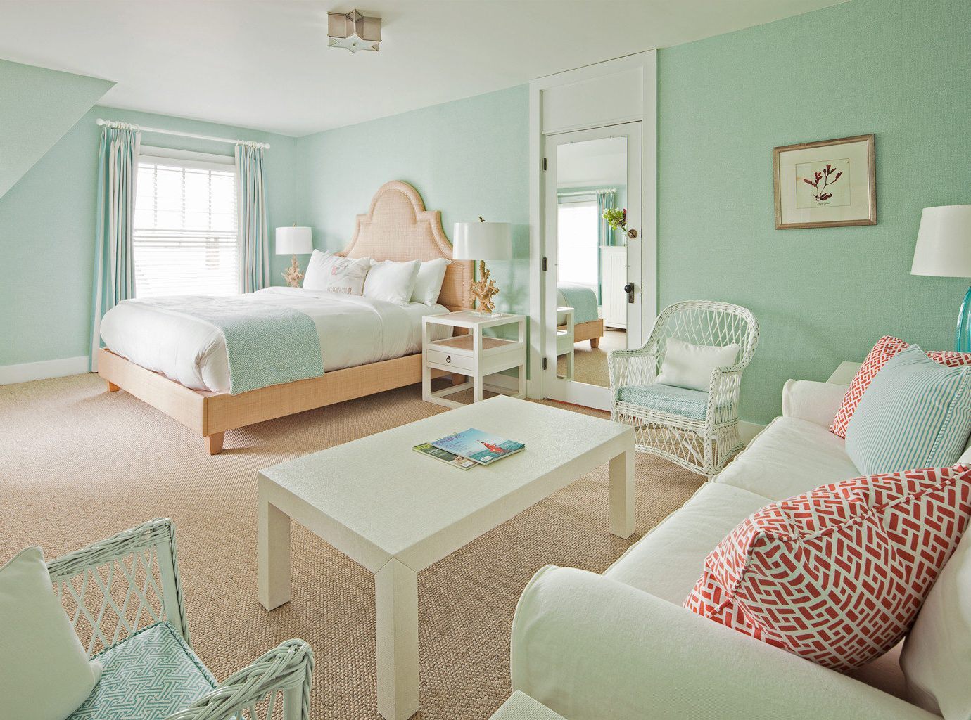 Bedroom at the Tides Beach Club, Maine