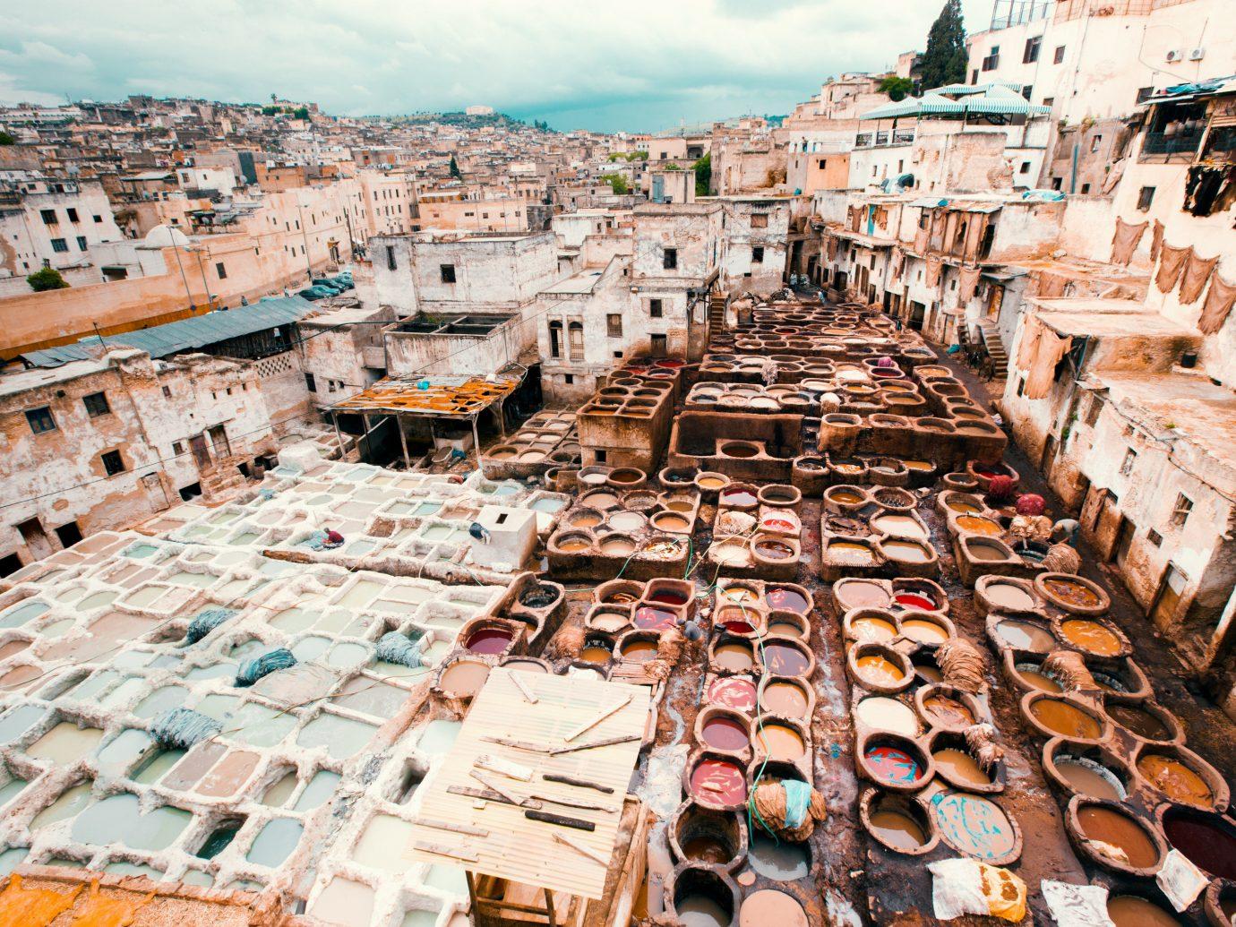 Arts + Culture Marrakech Morocco Style + Design urban area Town City slum historic site archaeological site tourism ancient rome ancient history