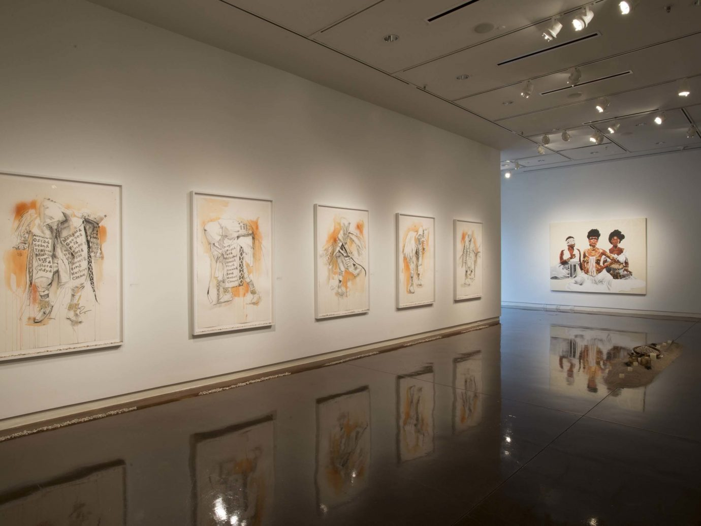 Galler display at The Halsey Institute of Contemporary Art
