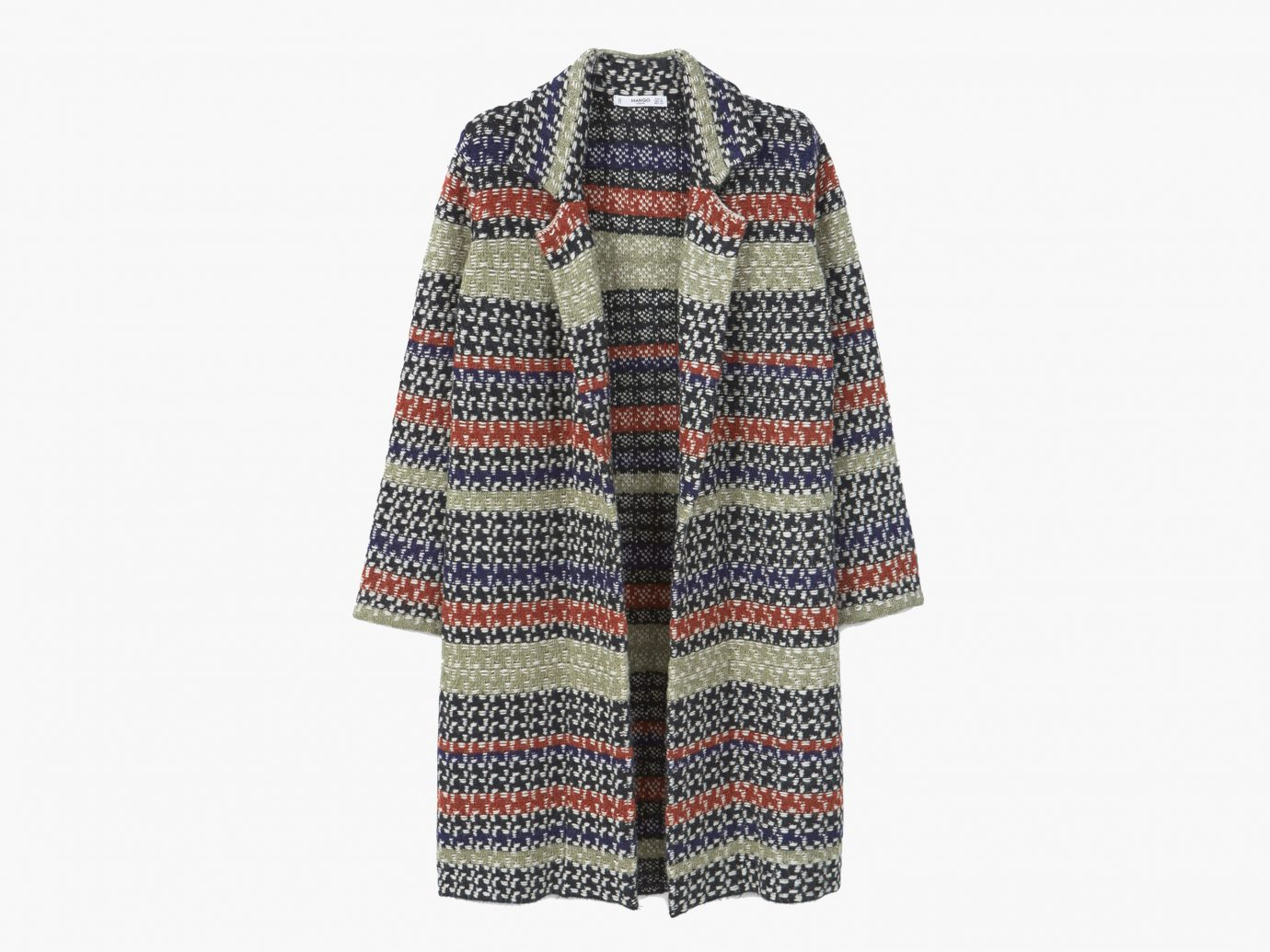 Style + Design clothing outerwear sleeve pattern woolen wool poncho sweater Design stole textile tartan colored