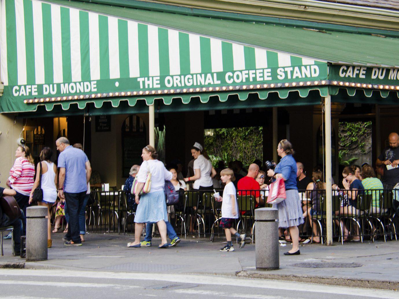 Girls Getaways New Orleans Trip Ideas Weekend Getaways building outdoor road person crowd people pedestrian festival