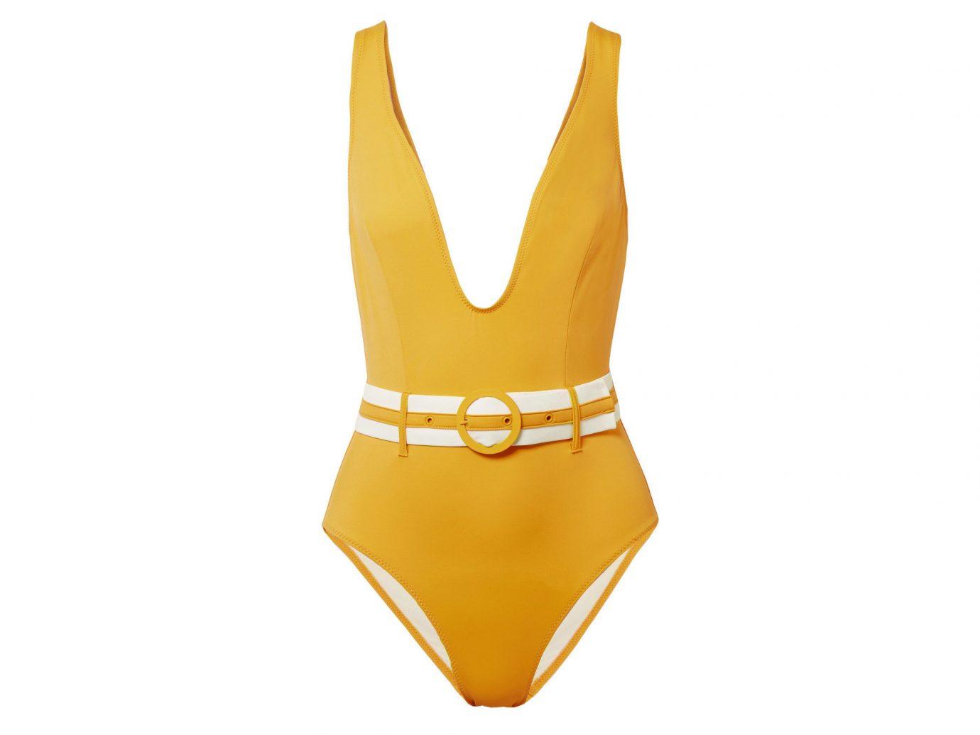 Style + Design Travel Shop yellow swimwear neck swimsuit bottom product design active undergarment one piece swimsuit undergarment maillot underpants