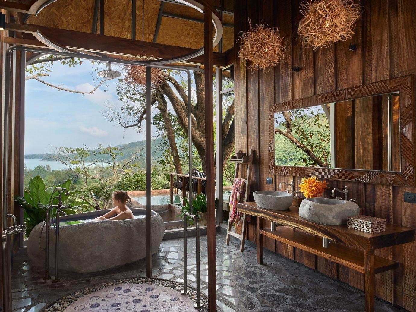 Living room at Keemala, Phuket, Thailand