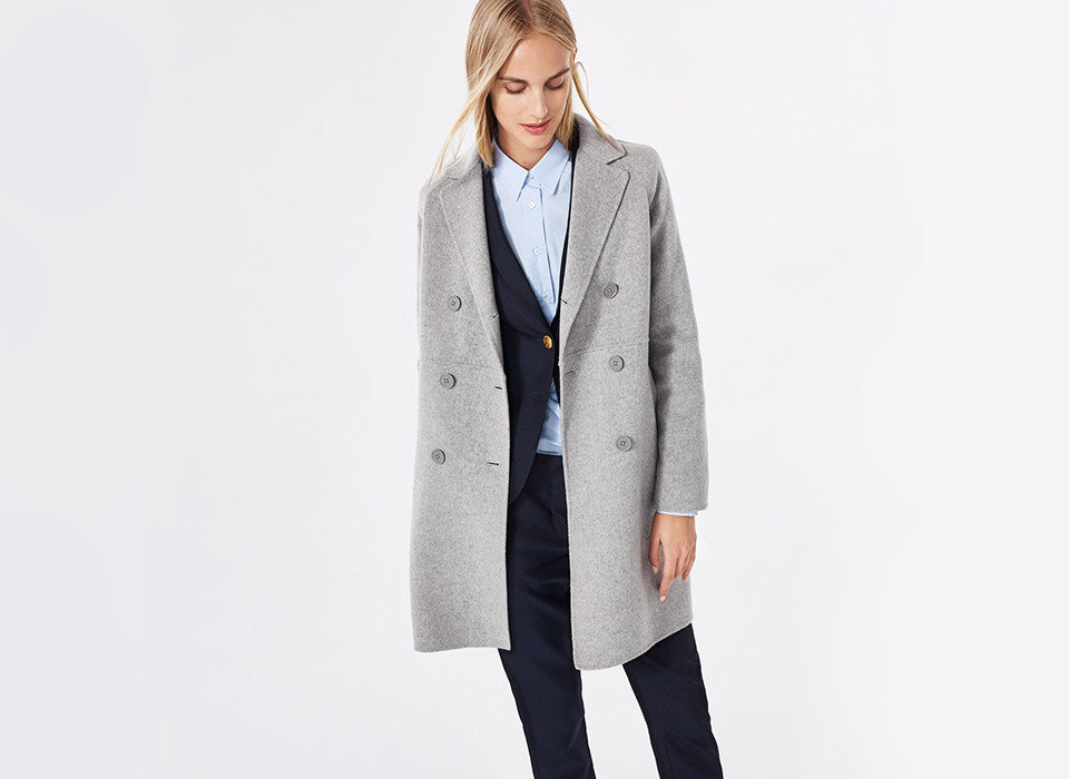 Style + Design person suit clothing coat standing wearing overcoat posing outerwear fashion model formal wear jacket neck dressed