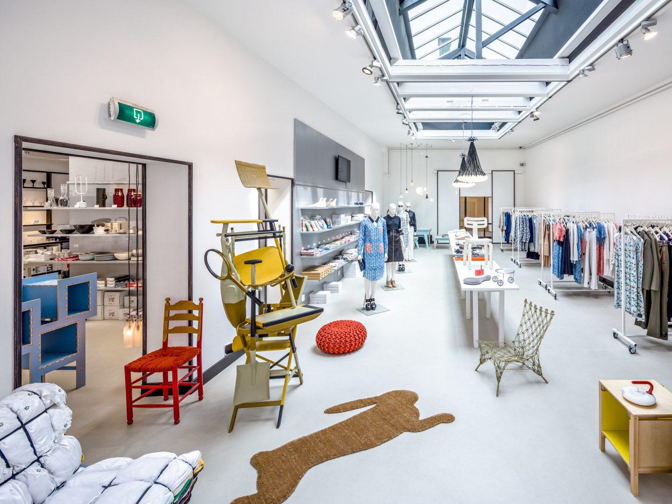 shopping Style + Design Travel Trends Trip Ideas indoor interior design loft retail several