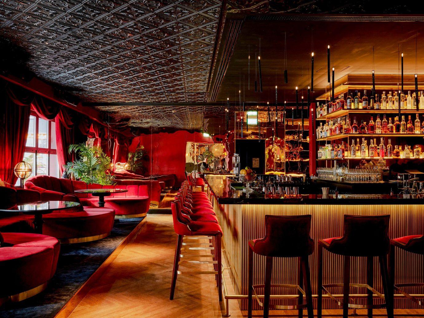 Trip Ideas Bar indoor restaurant interior design lighting café