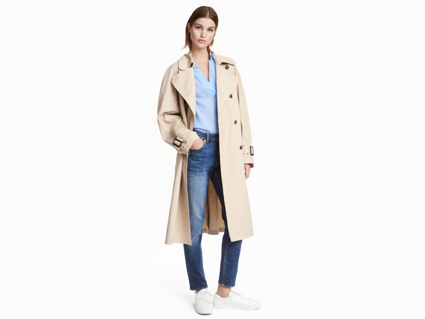 Style + Design clothing standing suit outerwear coat posing spring pattern jacket formal wear trench coat dressed
