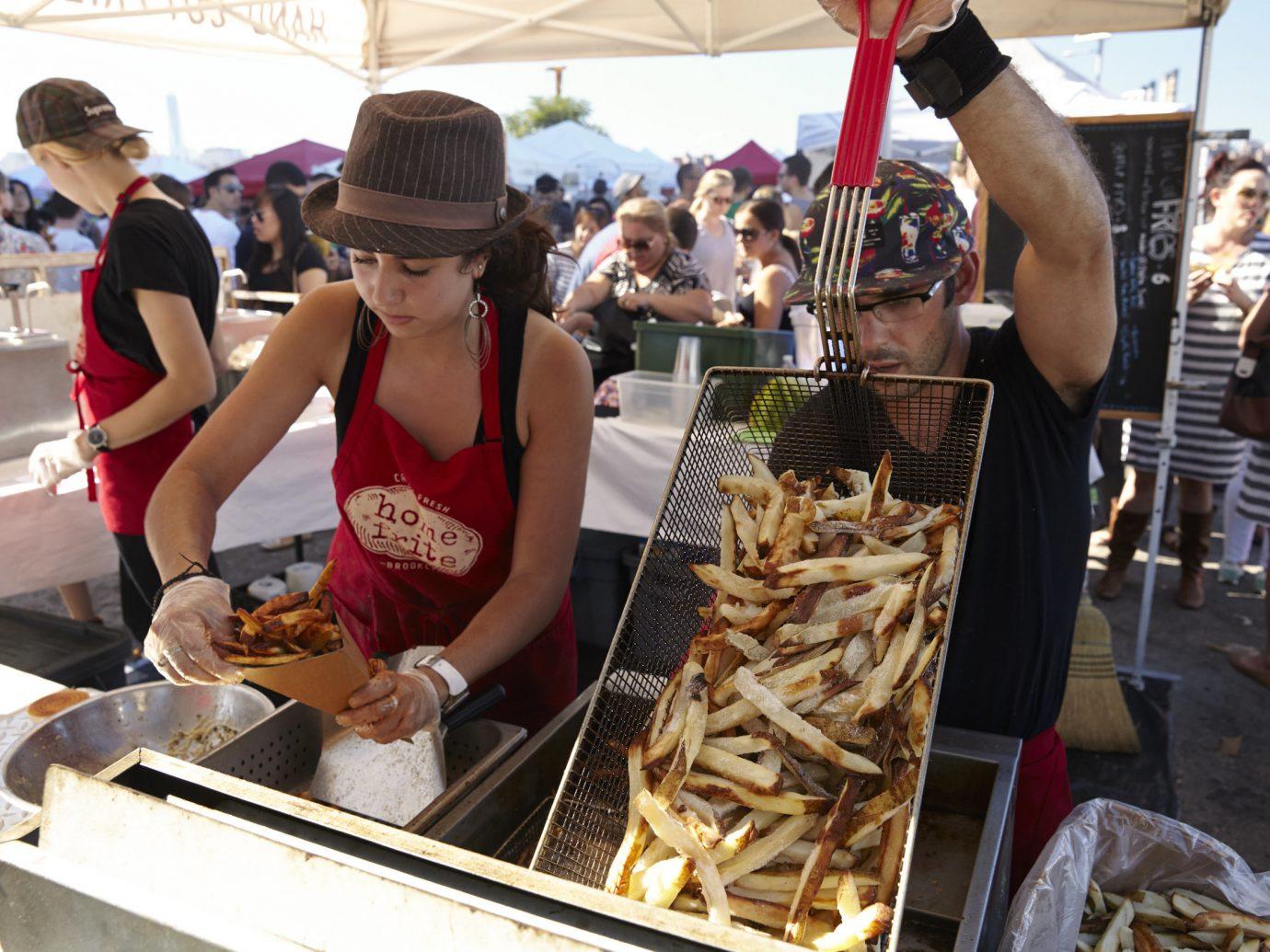 Budget person crowd public space City market vendor human settlement street food food fair sense festival taste preparing