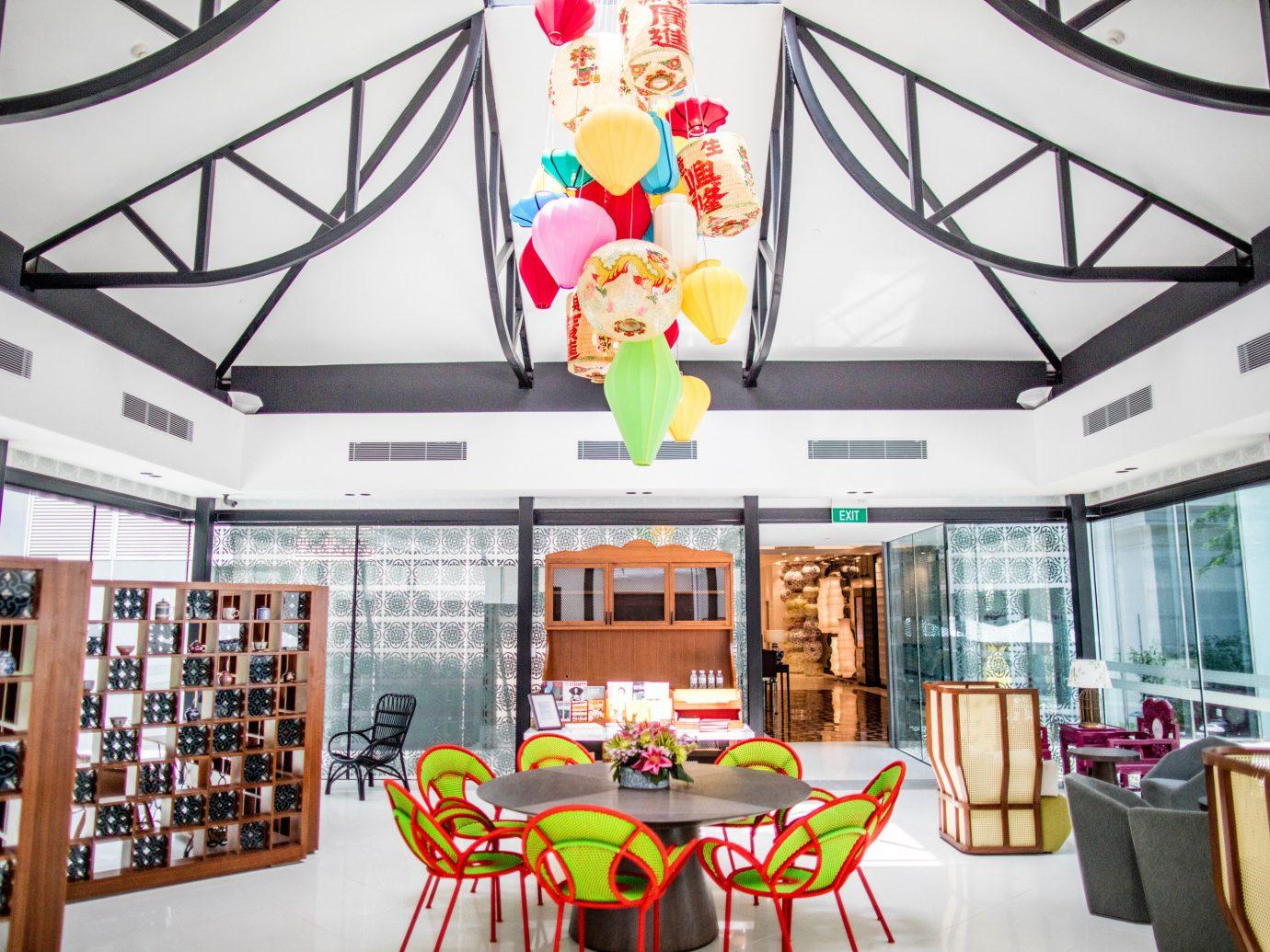 Hotels table indoor chair room ceiling scene interior design home Design estate Boutique Lobby furniture