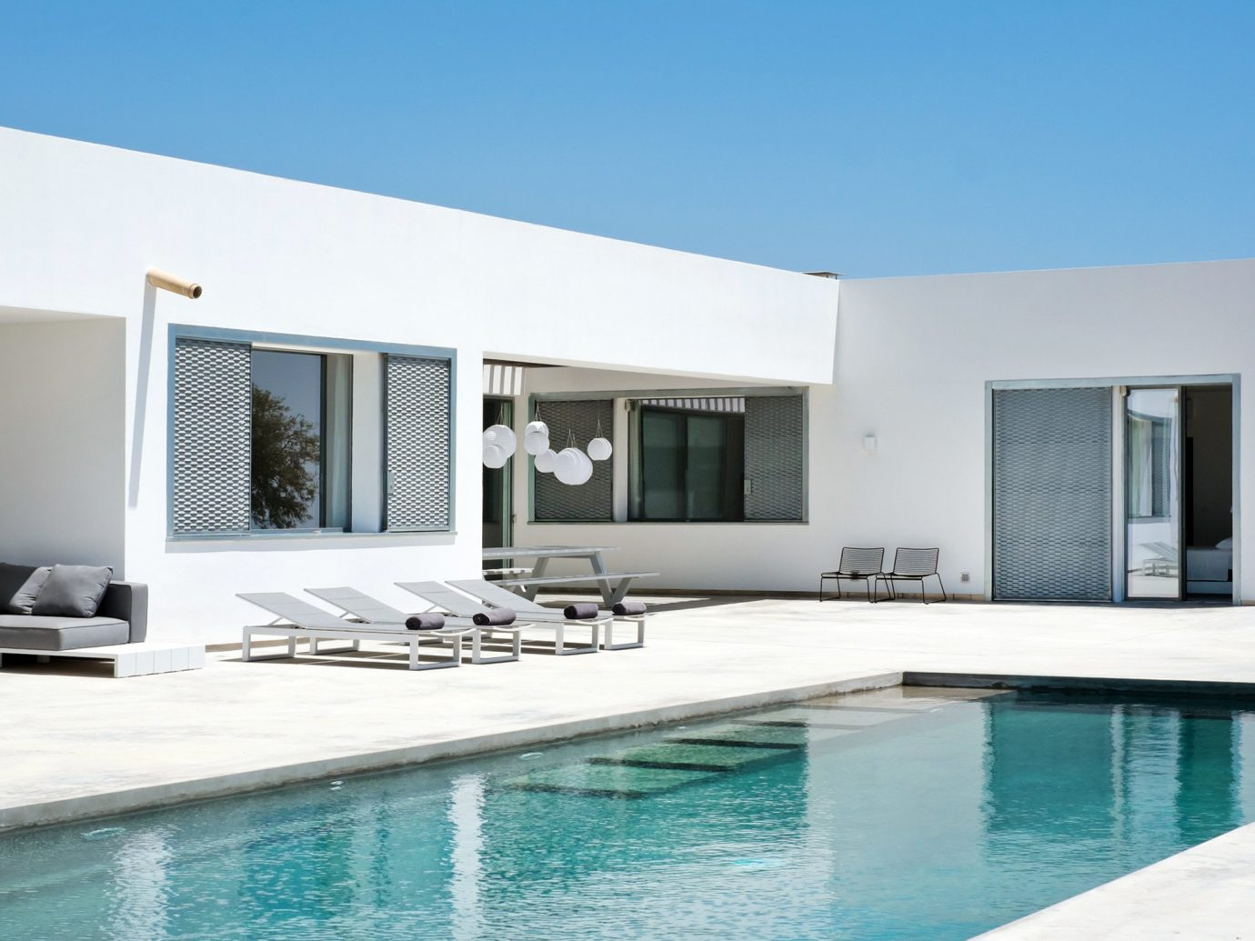 water Pool property swimming pool condominium house swimming Villa room home real estate estate facade interior design professional living room Design apartment