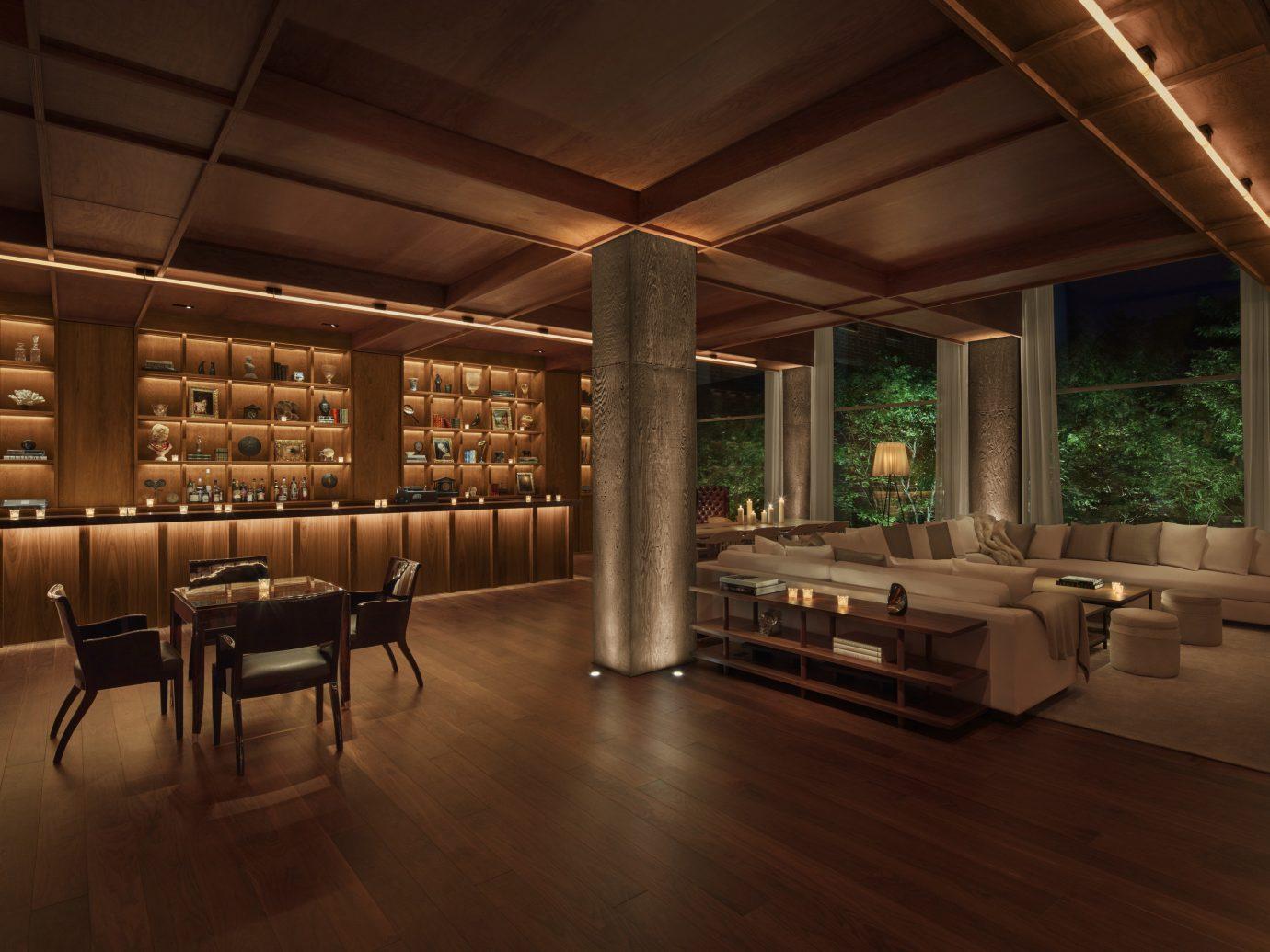 Hotels floor indoor ceiling room interior design Architecture Lobby wood flooring estate area furniture