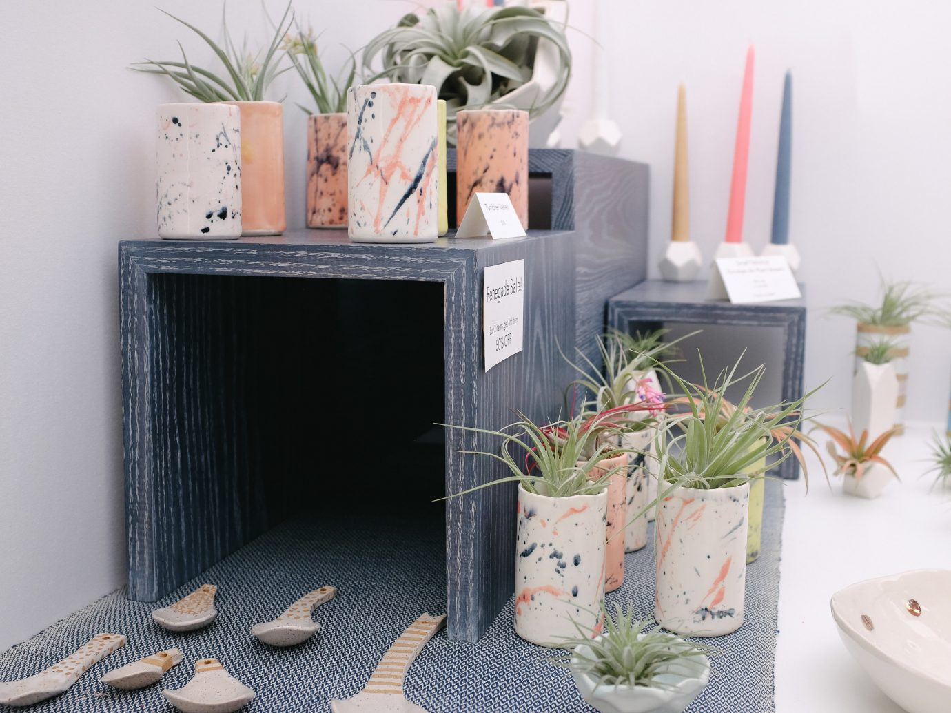 Offbeat wall indoor flowerpot furniture table product design flower