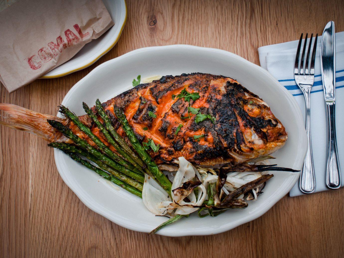 Trip Ideas plate food table dish produce meal vegetable fish cuisine sliced