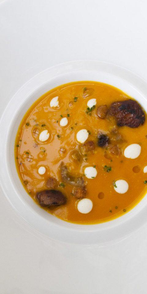 Food + Drink plate indoor dish food plant produce land plant white breakfast meal fruit vegetable flowering plant soup