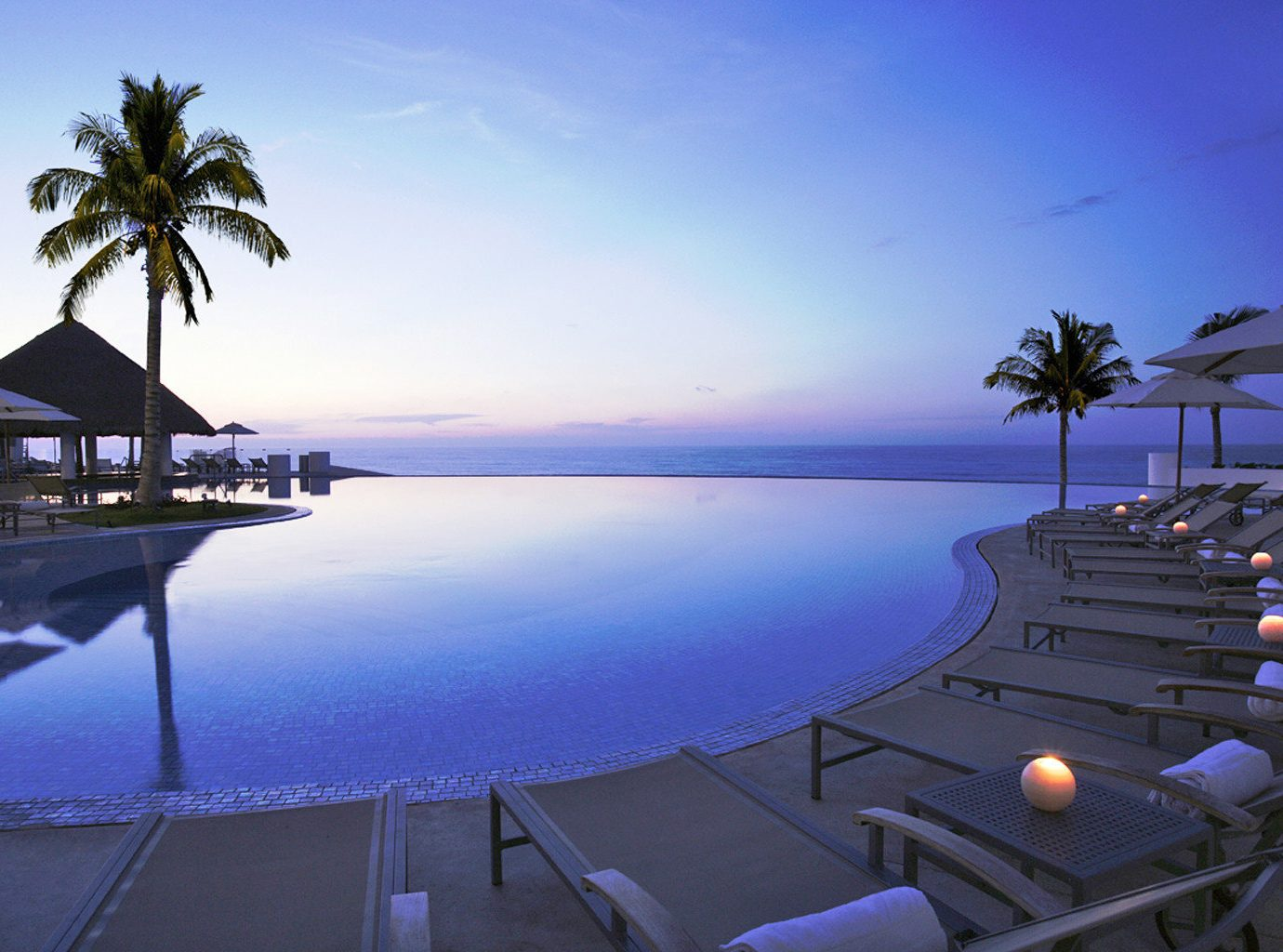 Pool at Le Blanc Spa Resort