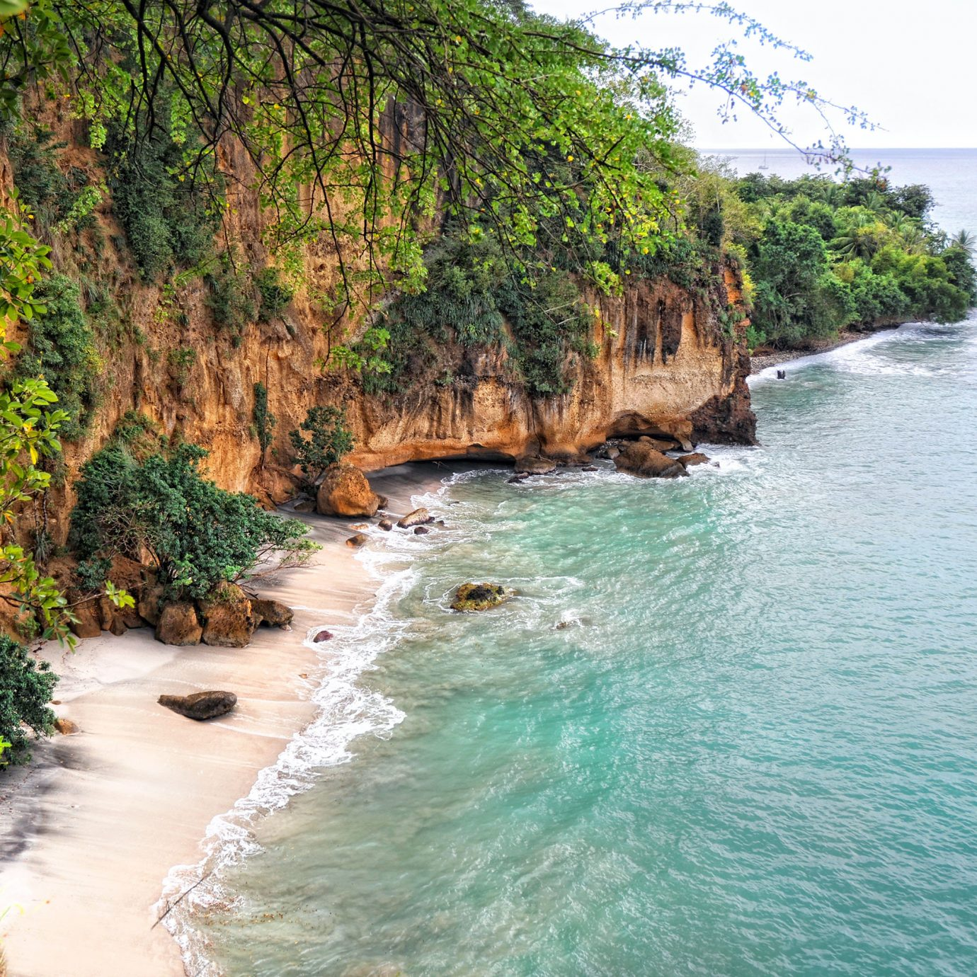Beach Beachfront Eco Elegant Island Jungle Nature Resort Scenic views Secret Getaways Trip Ideas Waterfront water outdoor tree River landform geographical feature body of water Coast bay Sea cliff terrain traveling surrounded