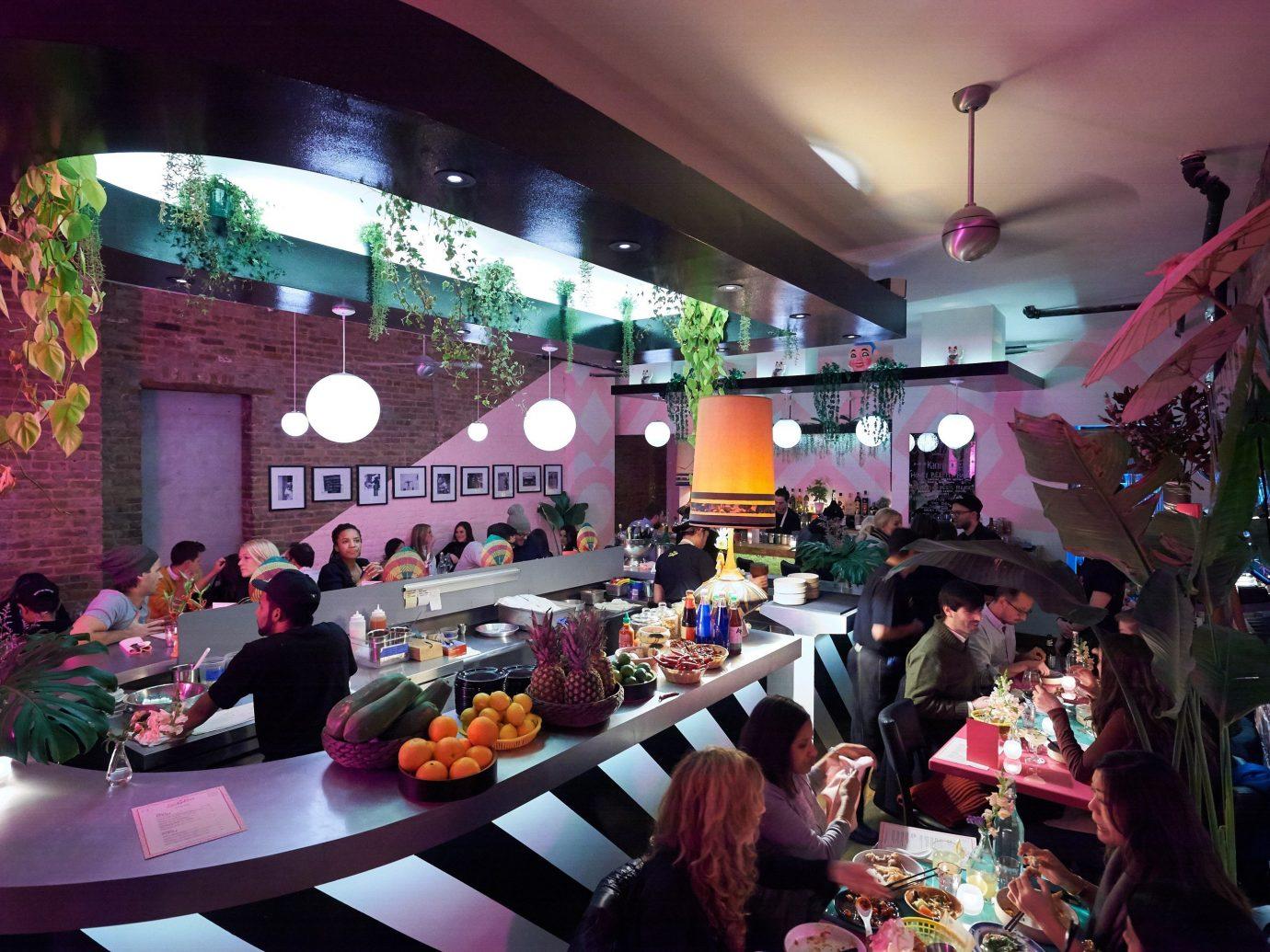Summer Series person indoor ceiling meal floristry restaurant several