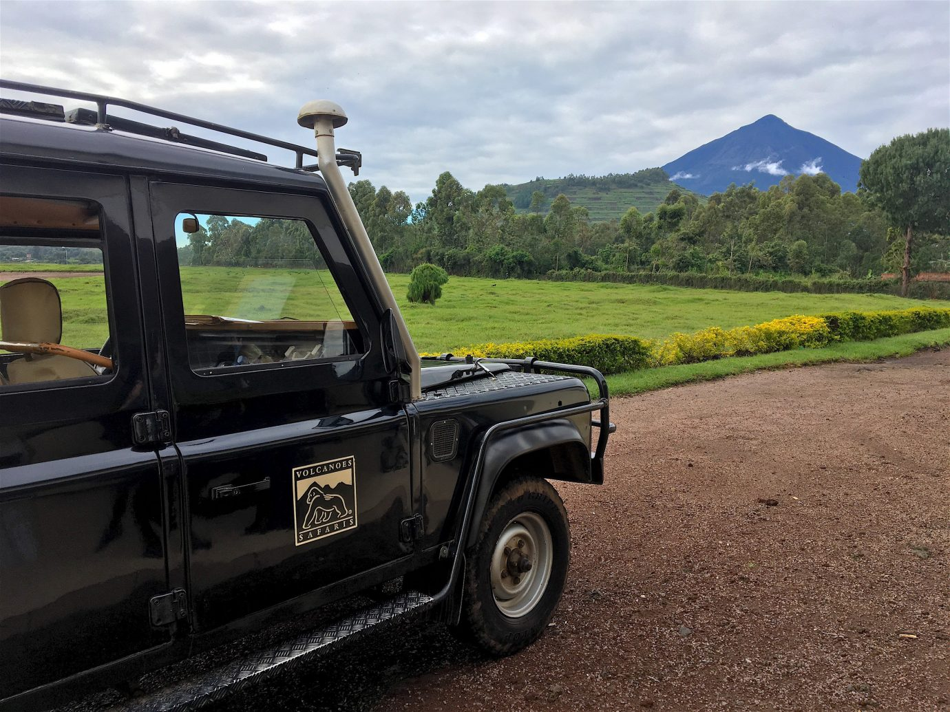 Trip Ideas sky outdoor car truck motor vehicle vehicle transport mode of transport off roading road off road vehicle automotive exterior landscape tree plant land rover defender sport utility vehicle automotive tire jeep Safari window dirt