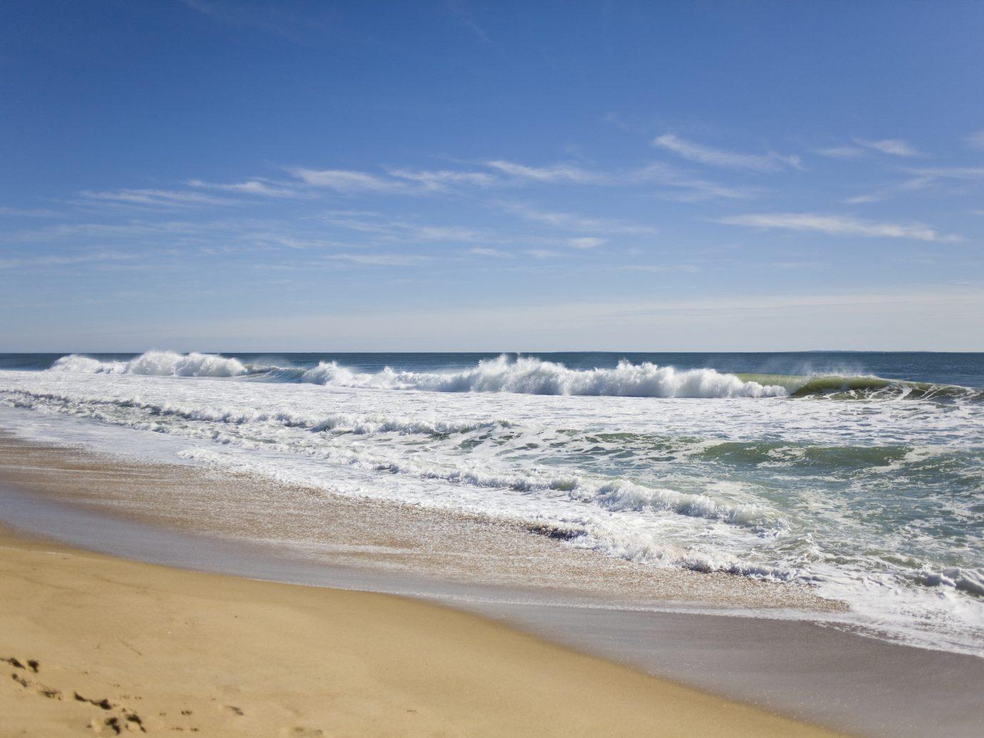 Secret Getaways Trip Ideas sky outdoor water Beach Nature shore wind wave Ocean Sea body of water wave Coast horizon sand vacation cape sandy
