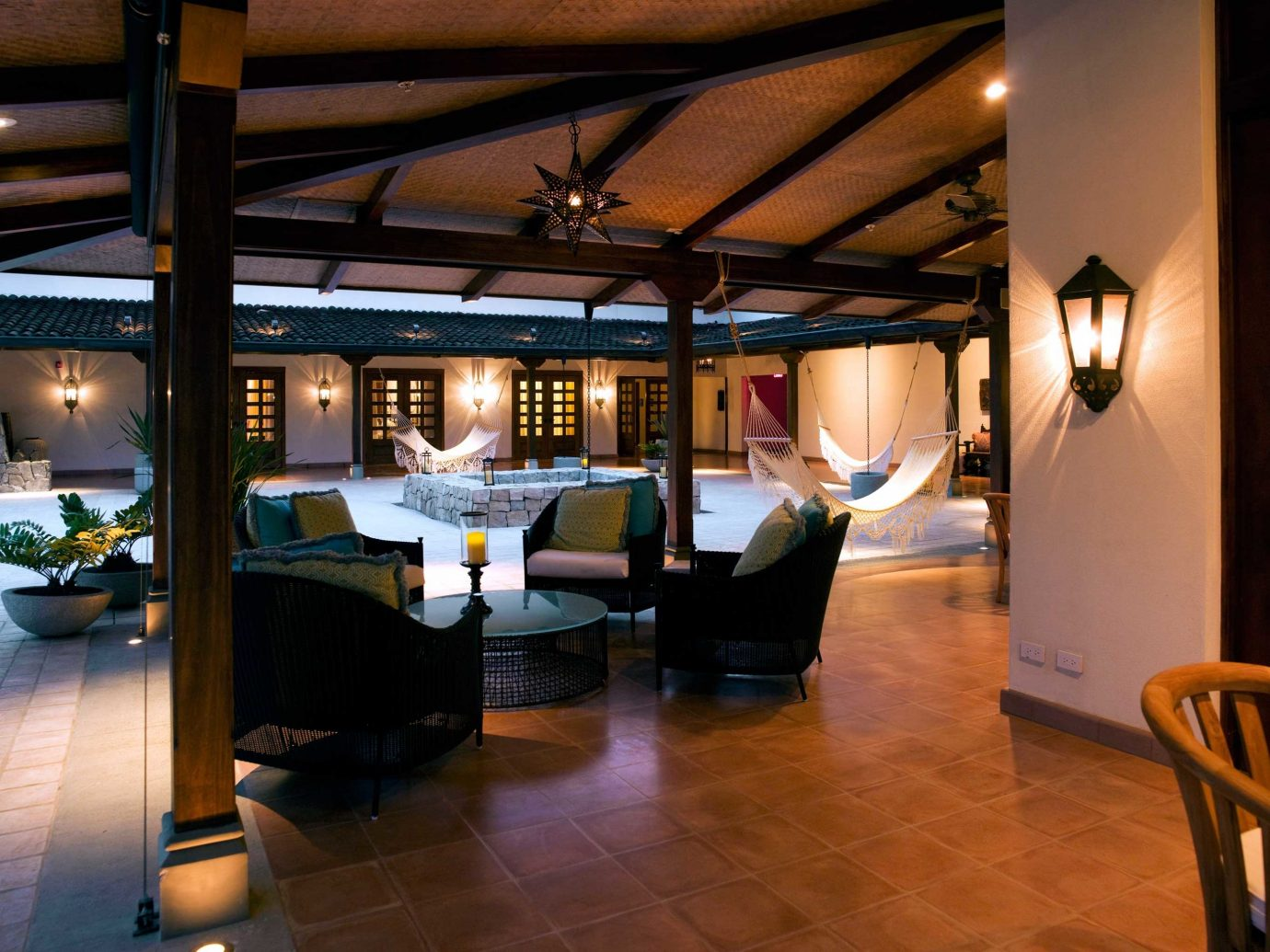 Lobby at JW Marriott Guanacaste in Costa Rica
