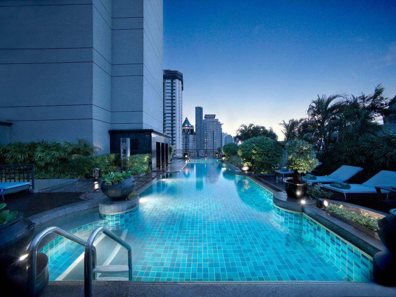 Hotels outdoor swimming pool leisure condominium reflecting pool estate reflection Resort