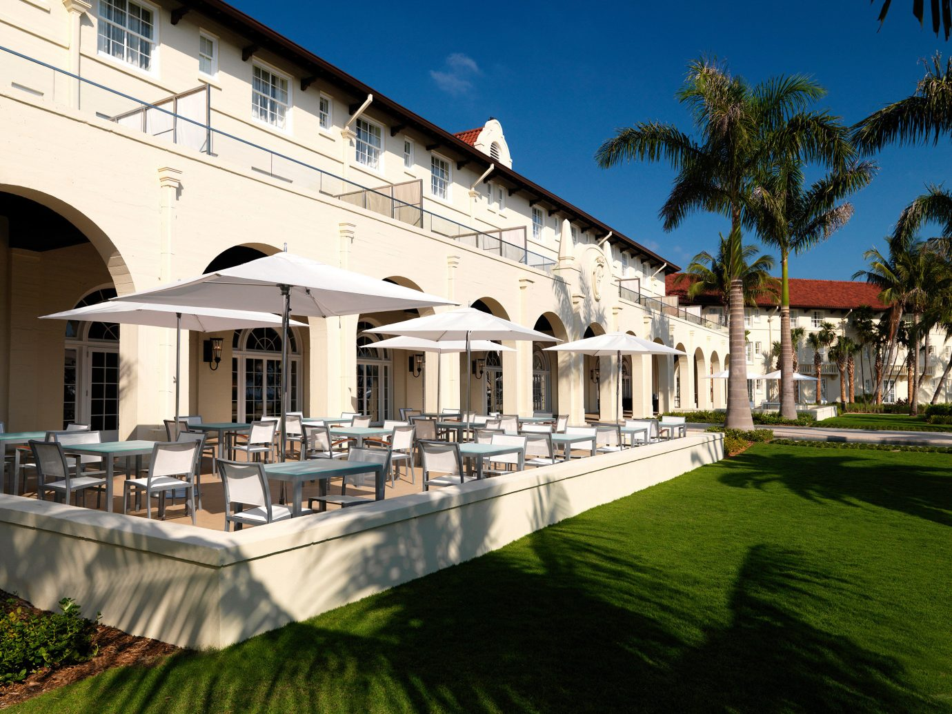 Florida Hotels sky building outdoor grass landmark green estate Architecture palace facade Resort Villa mansion waterway