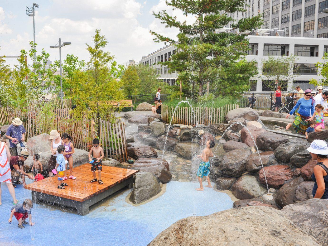 Trip Ideas tree outdoor water feature park amusement park Water park fountain