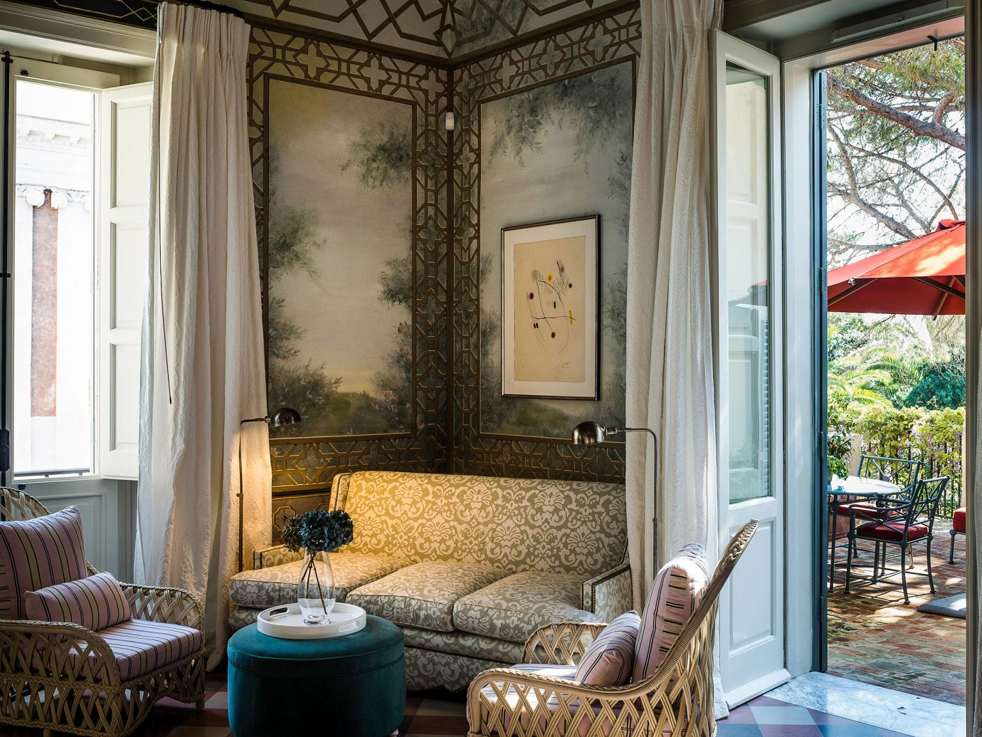 Celebs Hotels room interior design home window living room real estate house estate window treatment door ceiling