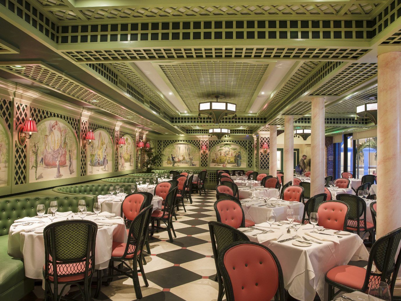 Food + Drink indoor ceiling meal restaurant interior design