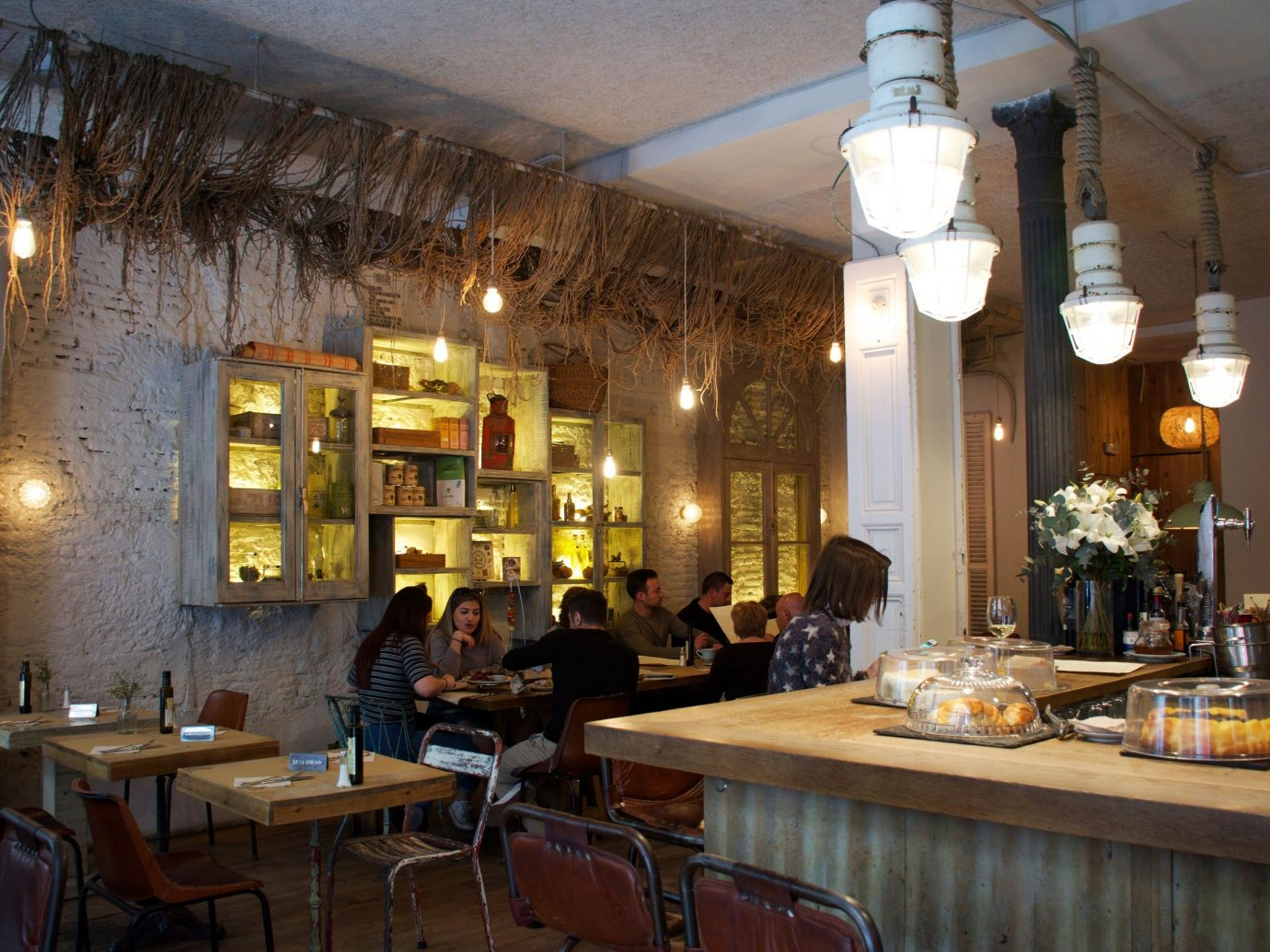 Trip Ideas table ceiling indoor property restaurant room estate interior design Bar tavern Dining area furniture