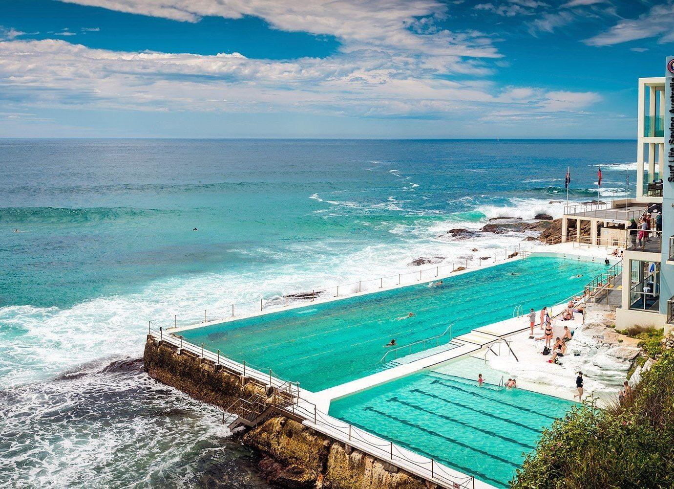 Trip Ideas water outdoor sky Beach Sea Ocean shore leisure caribbean vacation body of water Coast swimming pool Resort bay Lagoon cape cove tropics sandy