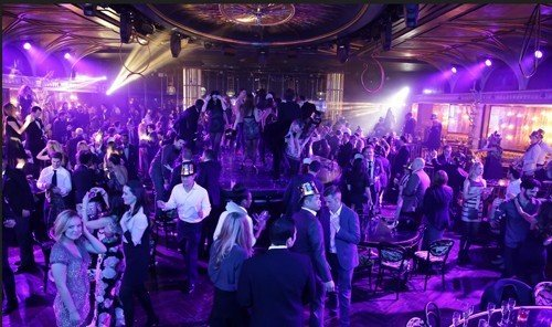 Food + Drink stage scene person rock concert nightclub people audience night group crowd disco light music venue club musical theatre