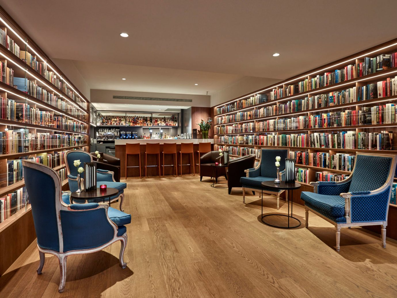 Hotels indoor ceiling library floor room public library scene Living building bookselling retail interior design furniture real estate