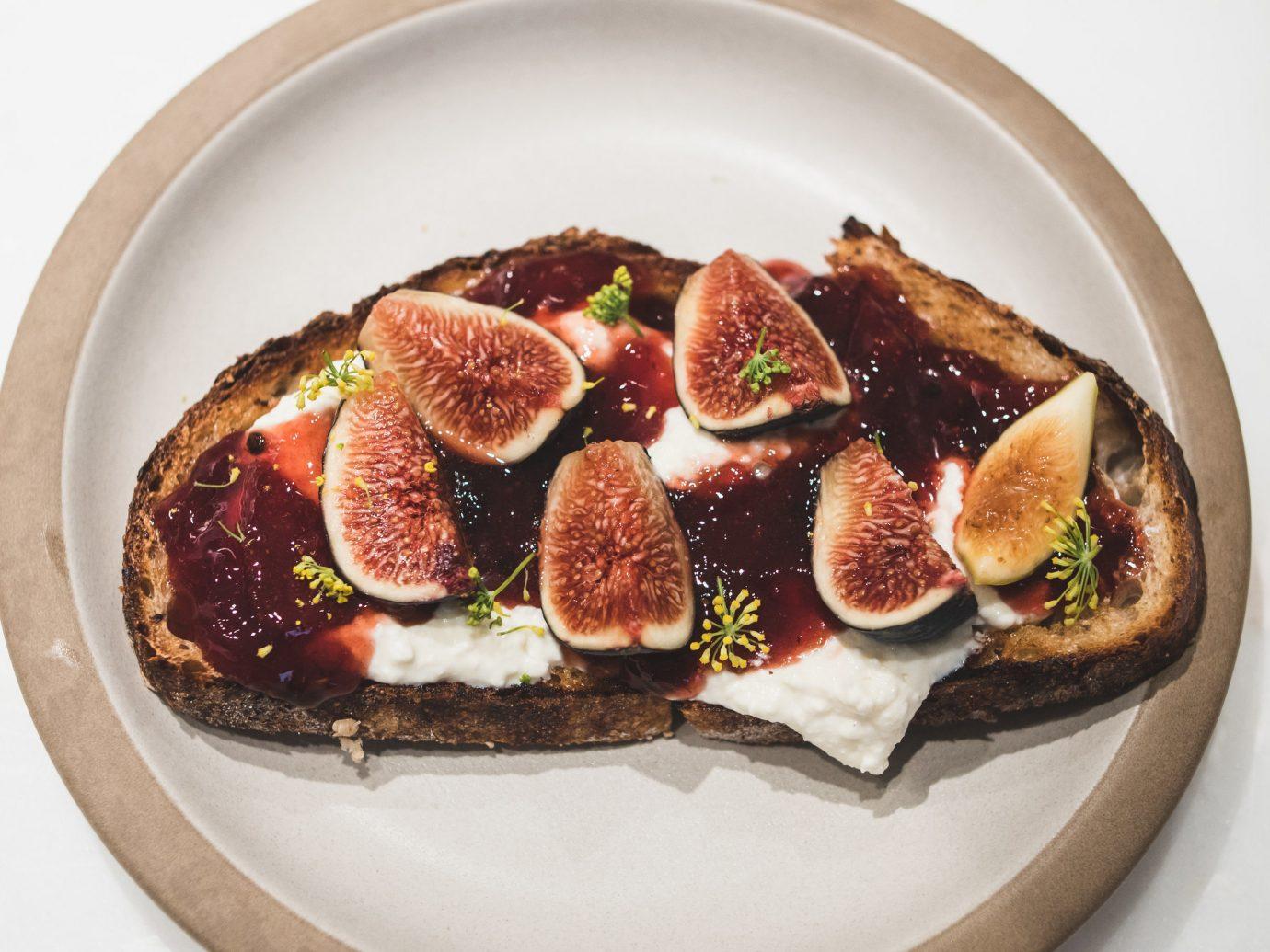 Food + Drink Travel Tips plate food dish appetizer cuisine slice finger food breakfast recipe dessert sliced arranged fresh