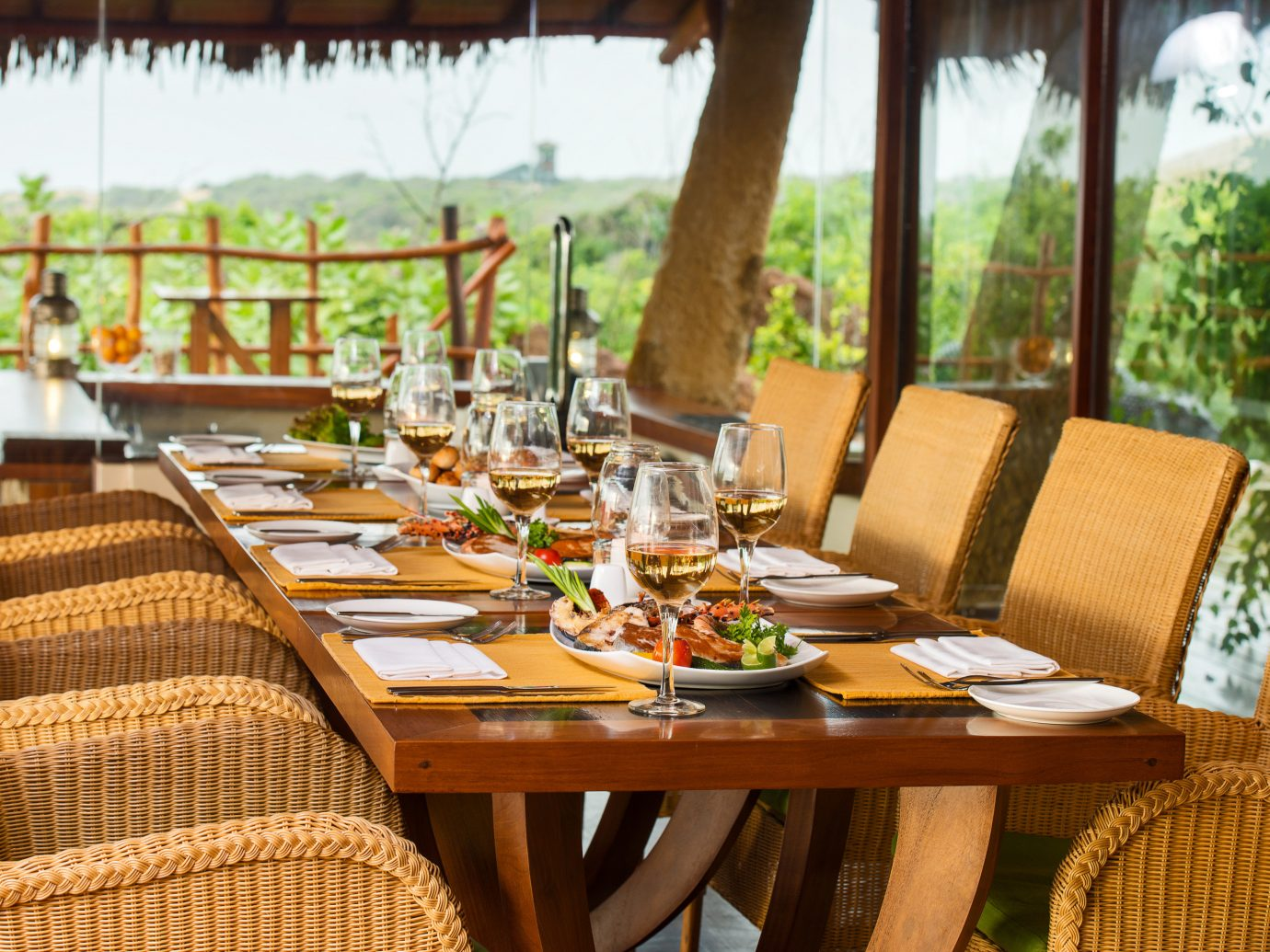 All-Inclusive Resorts Beach Hotels table chair Resort Dining meal restaurant brunch outdoor structure vacation dining room set dining table