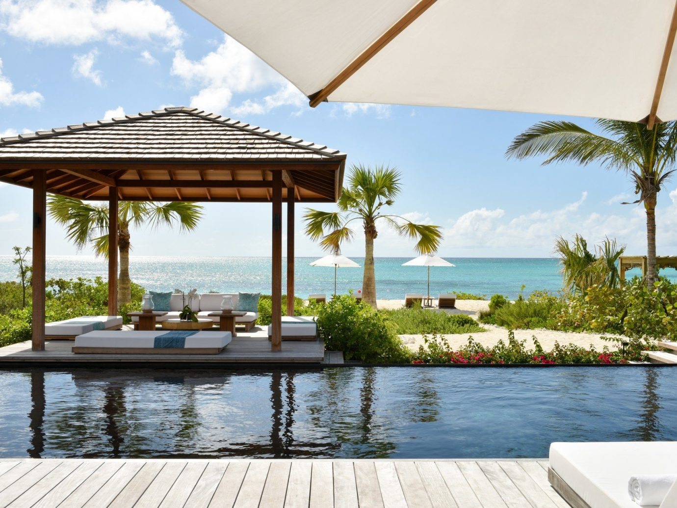 Pool at COMO Parrot Cay, Turks and Caicos