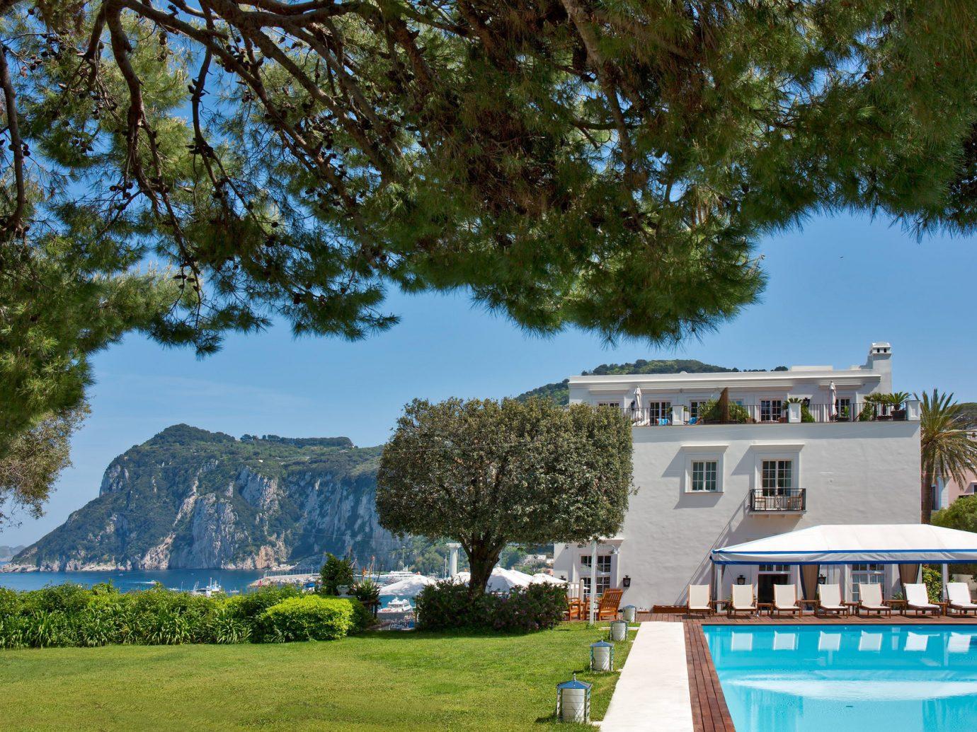 Pool at J.K. Place Capri