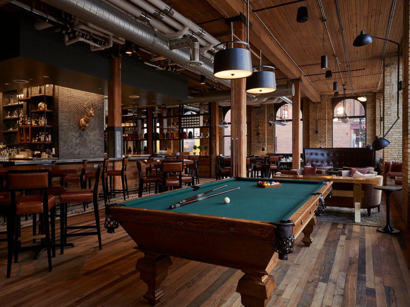 Trip Ideas floor table indoor billiard room recreation room room building estate ceiling cue sports interior design Bar billiard table games wood furniture