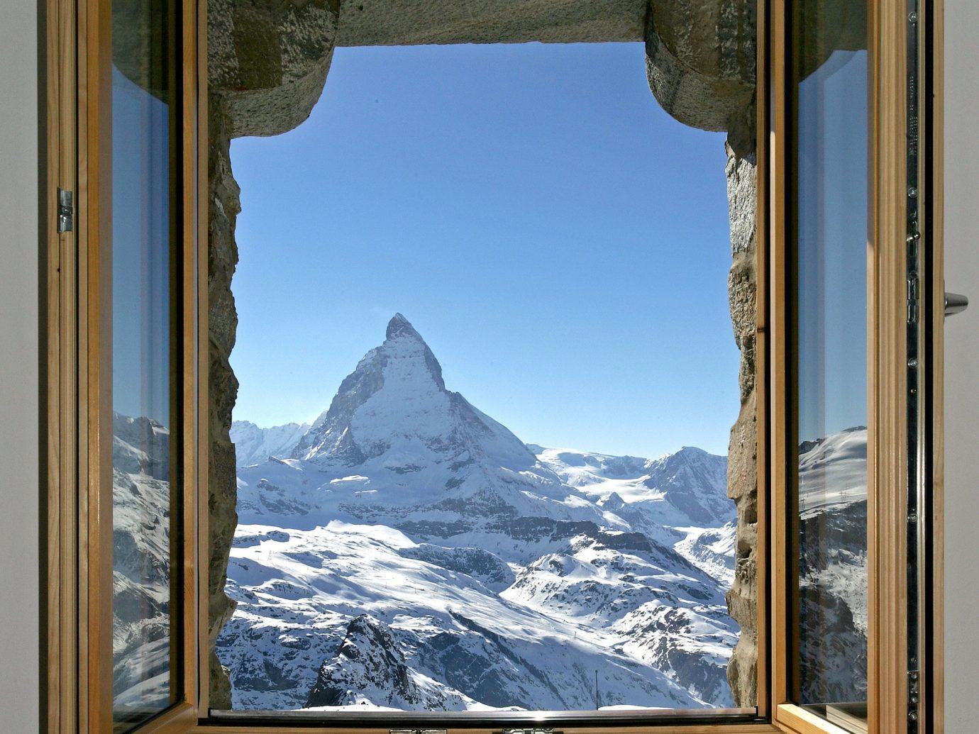 Hotels Offbeat window sky picture frame daylighting interior design