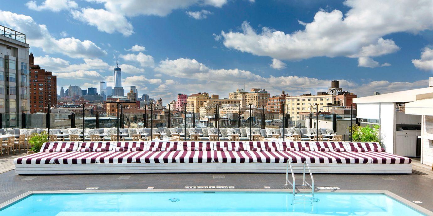 Style + Design sky outdoor swimming pool leisure property vacation plaza estate reflecting pool condominium palace Villa Resort