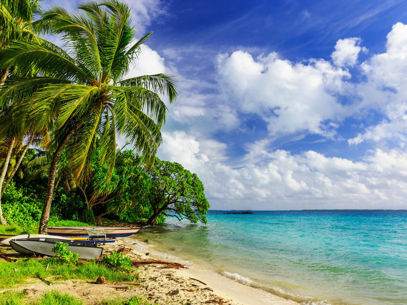 Trip Ideas outdoor sky water tree Beach shore Sea body of water Ocean geographical feature caribbean Coast tropics vacation horizon arecales Nature bay Island Lagoon cape wave palm family islet cove sandy swimming day