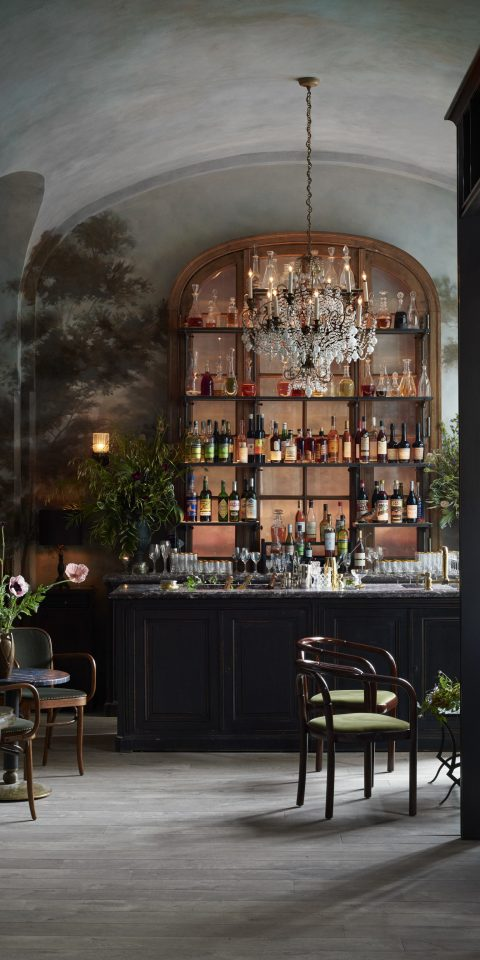 Food + Drink Romance Style + Design Architecture interior design lighting tourist attraction Lobby restaurant area