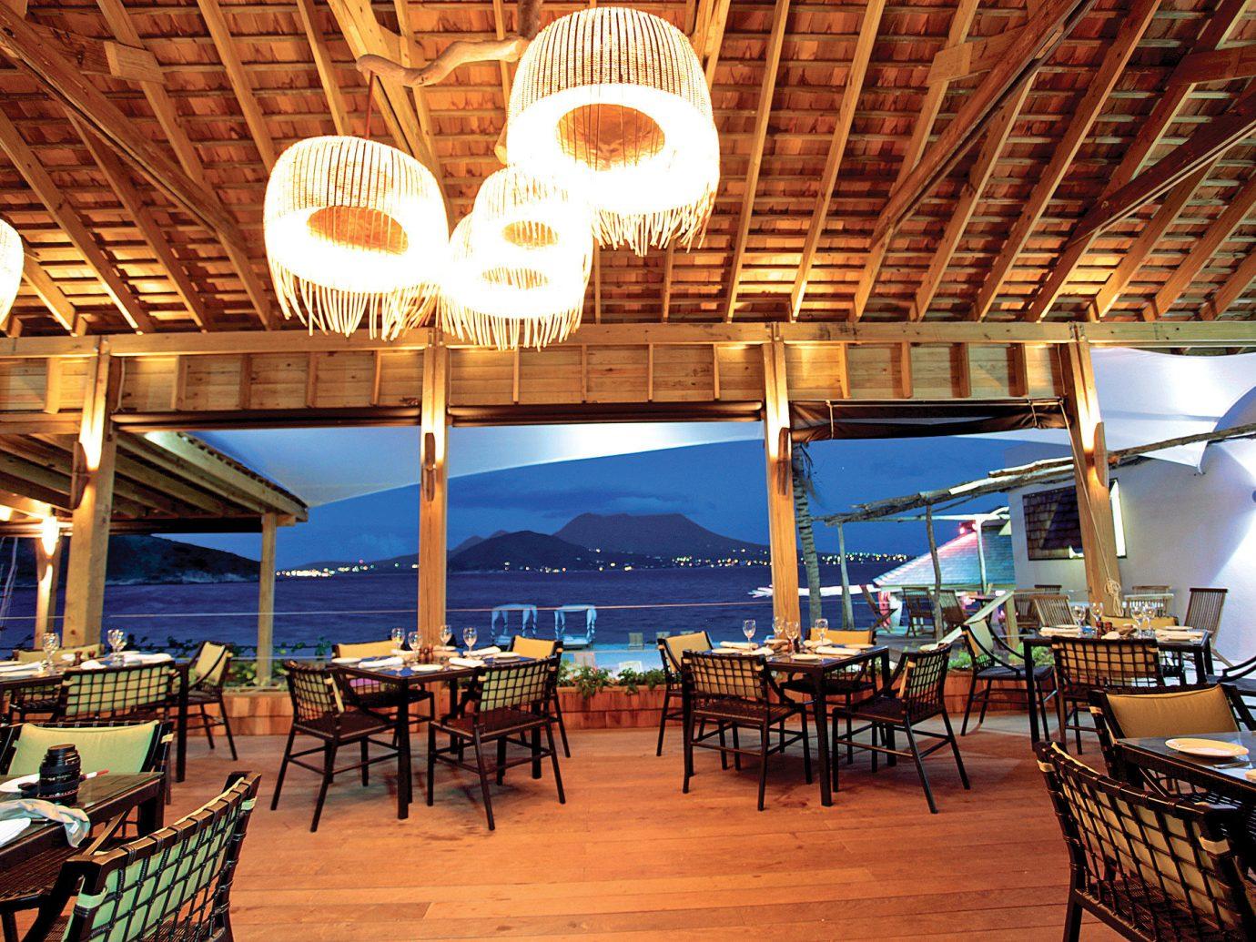 Trip Ideas chair table restaurant Resort estate meal function hall Bar set several dock