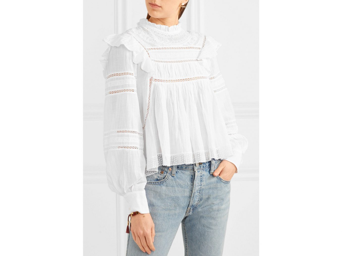 France Style + Design Travel Shop person clothing white shoulder standing sleeve joint outerwear neck posing blouse dressed