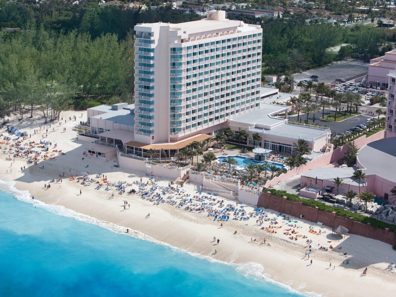 Aerial view of Hotel Riu Palace Paradise Island