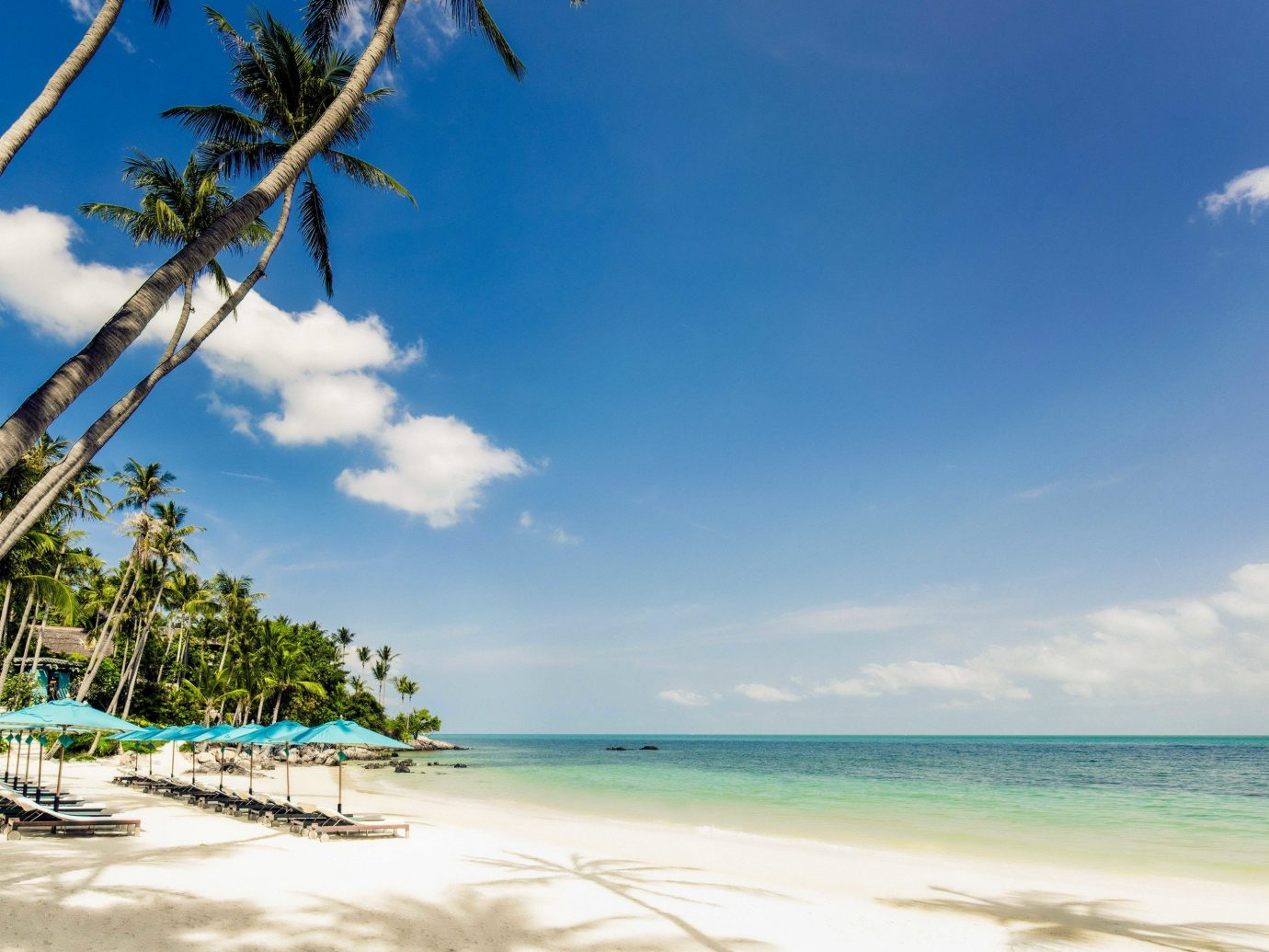 Hotels sky water outdoor Sea tropics body of water caribbean coastal and oceanic landforms Beach shore Ocean cloud vacation palm tree arecales Coast tourism Lagoon horizon Nature daytime bay Island tree leisure Resort calm cay palm plant sandy distance