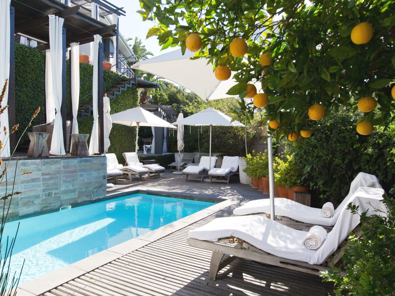 Hotels tree swimming pool property leisure Villa estate backyard Resort condominium home cottage real estate mansion furniture